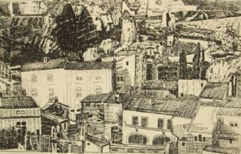 David Andrews; 'Les Baux-de-Provence'